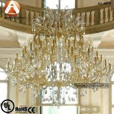 gold crystal chandelier large gold and clear crystal chandelier maria glass pendant lights modern gold k9