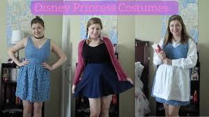 Homemade Disney Costume Ideas Simple Disney Princess Costume Ideas Youtube