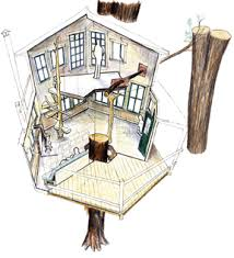 tree house floor plans for adults. Simple House Treehousecutawaybiggif With Tree House Floor Plans For Adults 5
