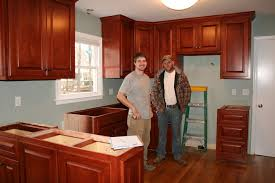 Quarter Round Kitchen Cabinets Cabinets Are Installed