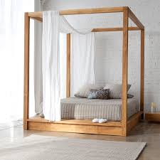 ... Contemporary Canopy Bed Frames ...