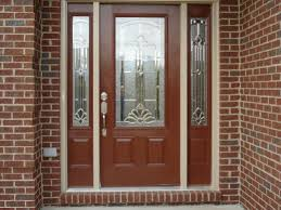 front door with one sidelightdoor  Enthrall Glorious How To Frame Entry Door With Sidelight