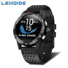 LEMDIOE Kadın Akıllı Saat Erkekler IP67 Su Geçirmez Kalp Hızı Kan Basıncı  Için Smartwatch Android IOS Spor Izci Dijital Spor Giyilebilir Cihazlar -  Perfectstops.news
