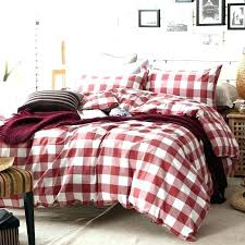 cuddl duds polar bears flannel duvet cover set red plaid comforter bedding sets elegant