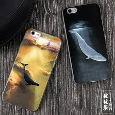 the new black whale original creative apple 6 s iphone6 phone s mobile phone s embossed