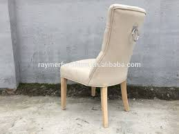 creative decoration ring back dining chair french beige linen tufted dining chair ring back chair hotel ring