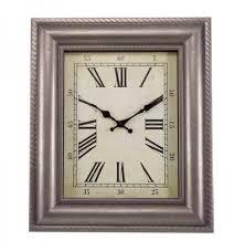 large quardrant outdoor wall clock