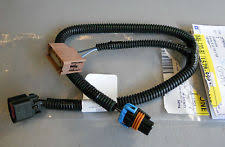 gm fog light wiring harness in car truck parts 07 10 escalade sierra silverado rh or lh fog light lamp wiring harness 15789983