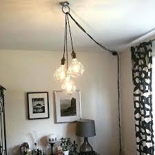 hanging pendant light fixtures pterest signg tended plug in hanging socket pendant light fixture