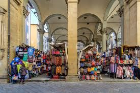 as the porcellino market for the bronze wild boar that is a popular tourist attraction nice to walk through but we wouldn t purchase leather here
