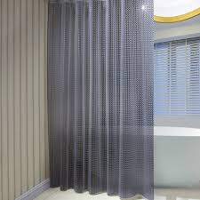 sr sunrise mildew resistant eva 3d shower curtain liner with 12 shower curtain rings 72 x72 grey eco friendly non toxic no chemical odor rust proof