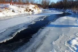 В Приволжске брат и сестра провалились под лед на реке Шача ...