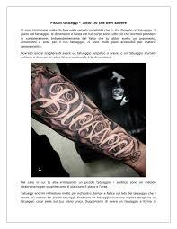 Tatuaggi Piccoli By Simbo Diun Issuu