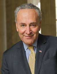 Hey that'd wipe the remainder of my wife's student debt and we can get that part of our taxes back since they were garnishing part of our return. Chuck Schumer Wikipedia