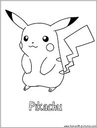 Disegni Da Colorare Pokemon Pikachu Disegni Da Colorare
