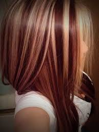 Red Hairstyles Color With Highlights Hairstyles