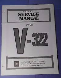 original hammond model v 322 service manual wiring diagrams parts original hammond model v 322 service manual wiring diagrams parts what s it worth
