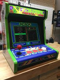 Raspberry Pi Game Cabinet Centipede Bartop With Raspberry Pi 3 And Attract Mode Completed