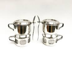 Our 304 stainless steel coffee filter won't absorb the oils and nutrients from coffee beans, so you can enjoy the true flavor. Coffee Makers Art Deco French Vintage Single Cup Coffee Filter French Coffee Filter Single Cup Vintage Drip O Lator