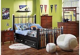 baseball toddler bed bedding