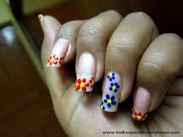 Images Ideas Easy Nail Art Step By Step Flowers Flower Remarkable ...