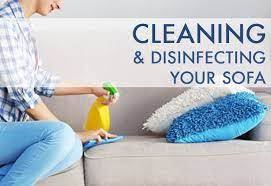 cleaning and disinfecting your sofa