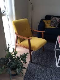 armchair in it s new coat
