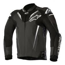 2018 alpinestars atem v3 leather jacket black