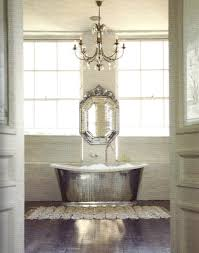 vicente bathroom lighting vicente wolf. A Venetian Mirror Is Layered On Top Of Wall-to-wall Mirror. The Composition Adds Depth And An Illusion Spaciousness To This Small Bathroom. Vicente Bathroom Lighting Wolf