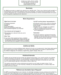 Things To Put On A Resume What Should You Include In A Resume Profile RESUME 100