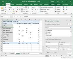 Add Grand Total To Pivot Chart Ms Excel 2016 How To Remove Row Grand Totals In A Pivot Table