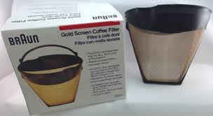 Free delivery and returns on ebay plus items for plus members. 3096794 Gold Coffee Filter Fits All 4 For Braun Coffeemakers