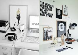 black white home office inspiration. Home Office Inspiration Black White I