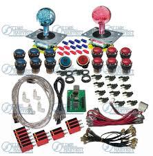 4 Player Arcade Cabinet Kit Aliexpresscom Buy 2 Player Usb To Jamma With Illuminated