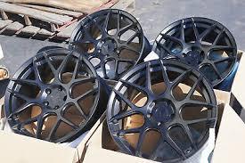 19x9 5 Aodhan Ls002 5x112 35 Black Rims Aggressive Fits