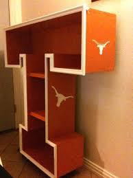 texas longhorn bedroom set my son loves longhorns so i built him this shelf the longhorn