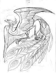 Japanese Phoenix Drawing At Getdrawings Com Free For Personal Use