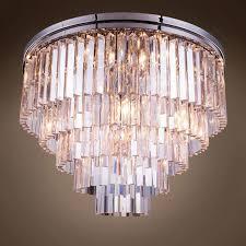 pottery barn chandelier lamp shades replica restoration hardware lighting ceiling light medallions rectangle odeon harlow crystal spiridon ring chandelier