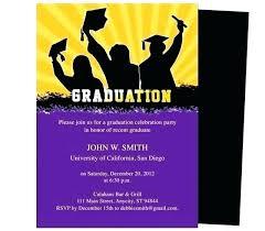 Free Graduation Announcements Templates Free Graduation Party