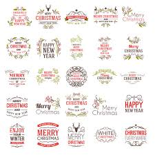 Label Design Vector Free Download 25 Templates Christmas Labels With Nice Designs In Vector