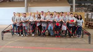 Asce Student Chapter Places Third In Regional Steel Bridge