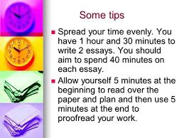 Some tips Some tips Spread your time evenly  You have   hour and    minutes SlidePlayer