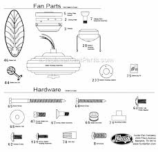 Hunter ceiling fans parts Harness Ereplacementpartscom Hunter Ceiling Fan 23699 Ereplacementpartscom