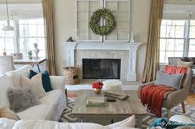 living room rug. Rustic Chic Family Room-getting The Look For Less Living Room Rug O