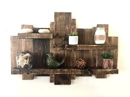 charming rustic wooden shelf wood diy shelving system it guide me best idea on chic decor