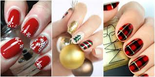 11 Best Christmas Nail Art Design Ideas 2017 - Easy Holiday Nails