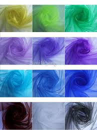 beautiful 18 multi color wedding decoration tulle chair flower yarn background gauze curtain stair armrest wedding celebration supplies wedding chair covers