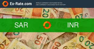 Saudi Riyal To Inr Chart How Much Is 100 Riyals Sr Sar To Rs Inr According To The