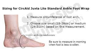 Medi Circaid Juxta Lite Standard 20 50 Mmhg Ankle Foot