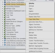 How To Create A Complete Copy Of A Sap Bw 7 3 Dataflow Tutorial
